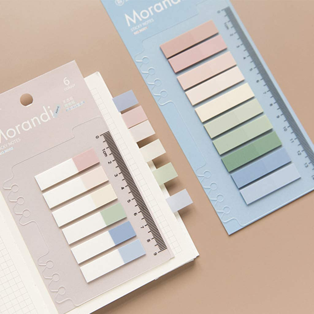 Jiay 60//120//200 Sheets PET Planer Sticker Index Tabs Bookmark Sticky Notes School B