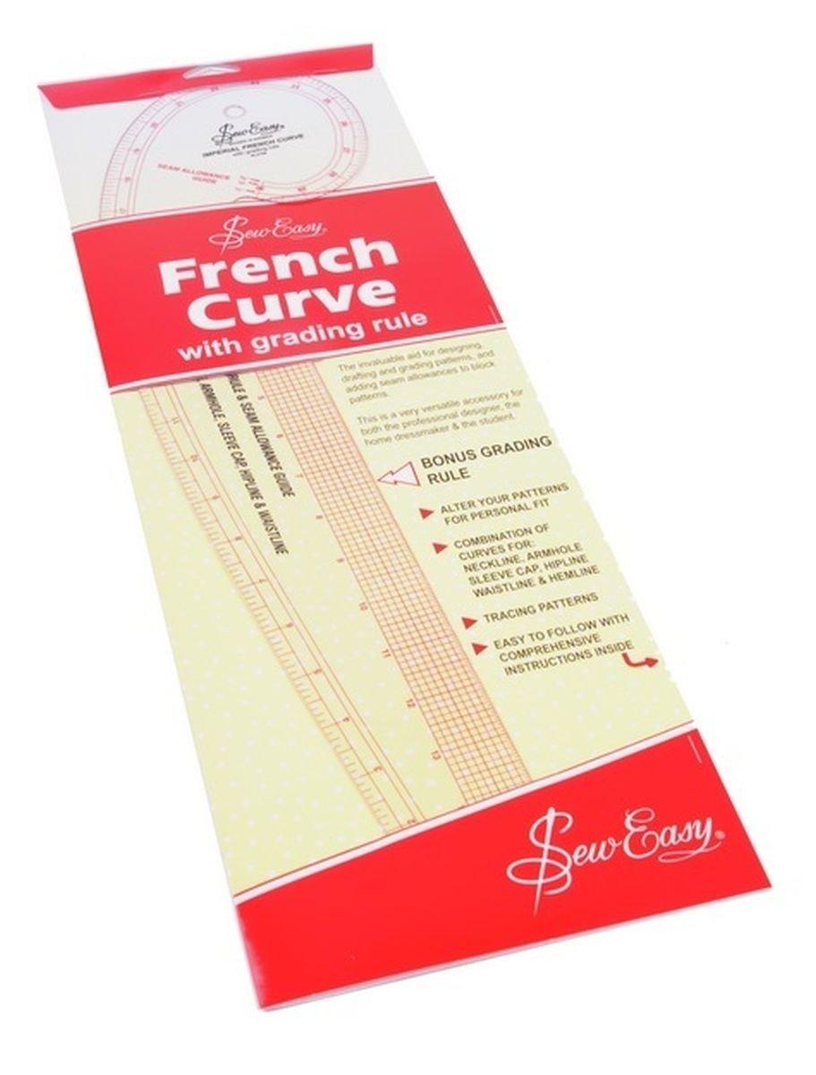 Sew Easy Pistolet courbe /à mesures imp/ériales