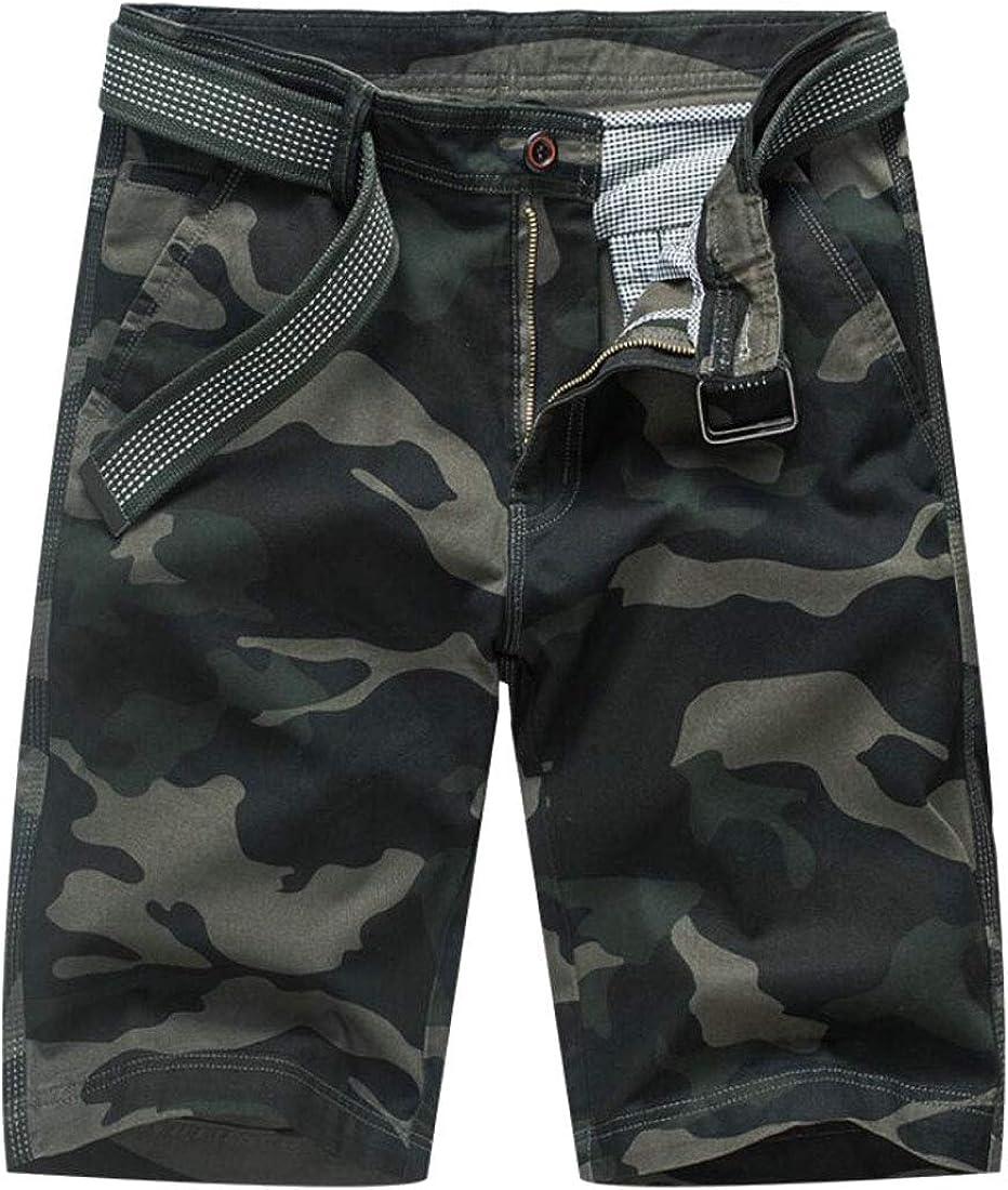 GenericMen Camouflage Short Pants Multi Pockets Camo Cargo Shorts