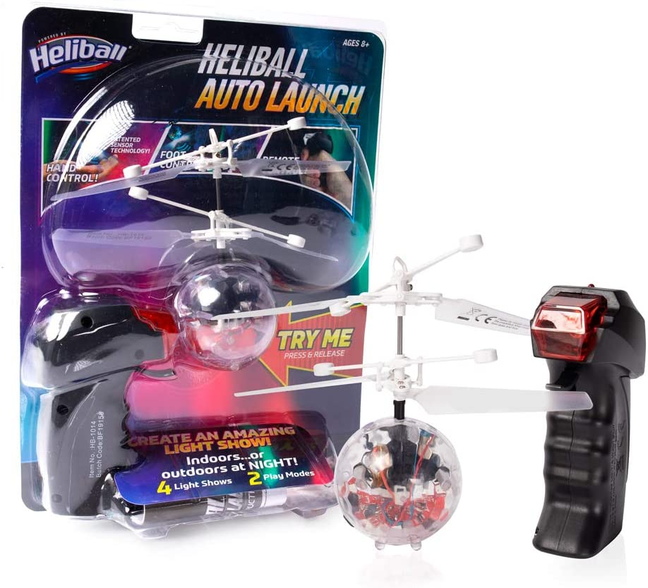 Heliball HB-1014 Auto Launch Brevettato Hover Technology Multi