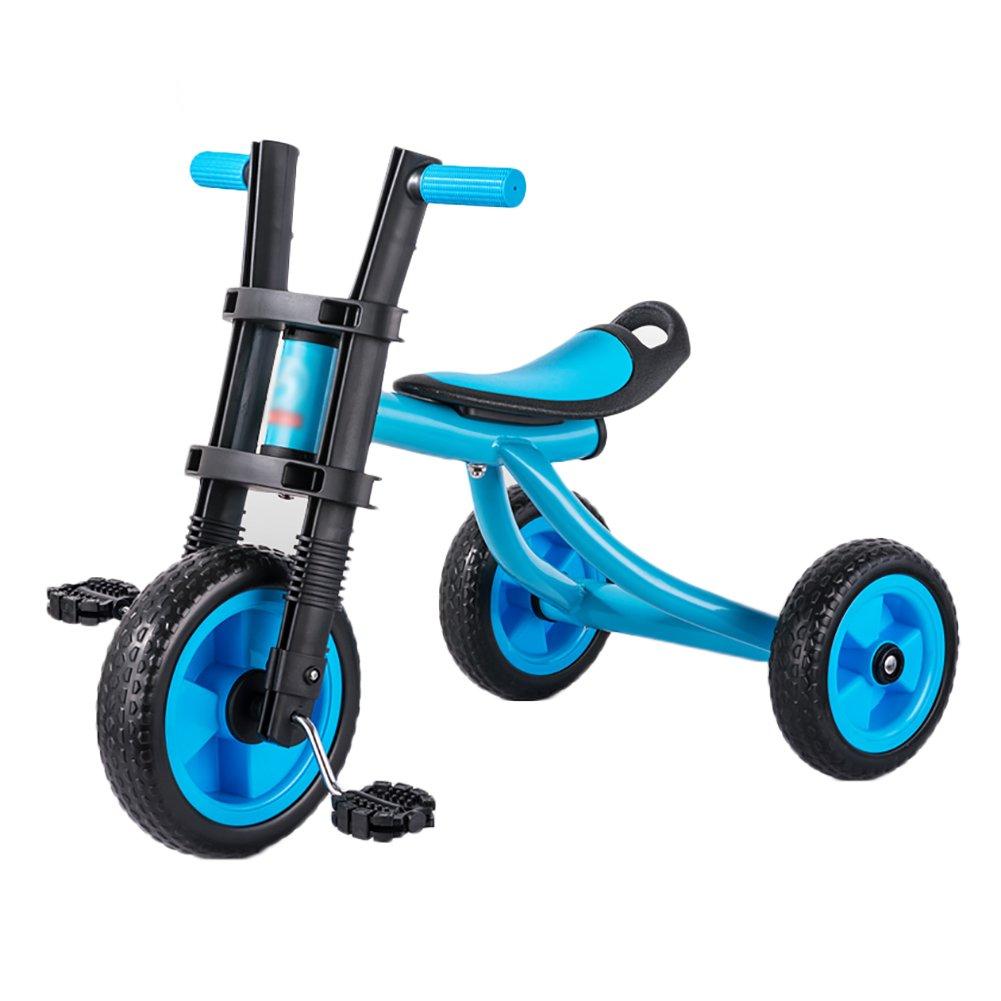 Triciclos Infantil Bicicleta Niño Carrito de bebé 2-5 Años de Edad Bicicleta de 3 Ruedas para Niños (Color : Azul): Amazon.es: Hogar