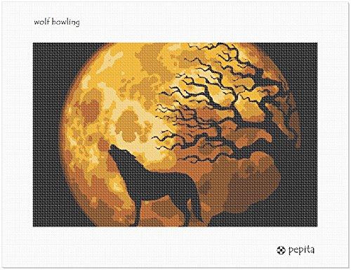 Wolf Needlepoint Kit (Wolf Howling Needlepoint Kit)