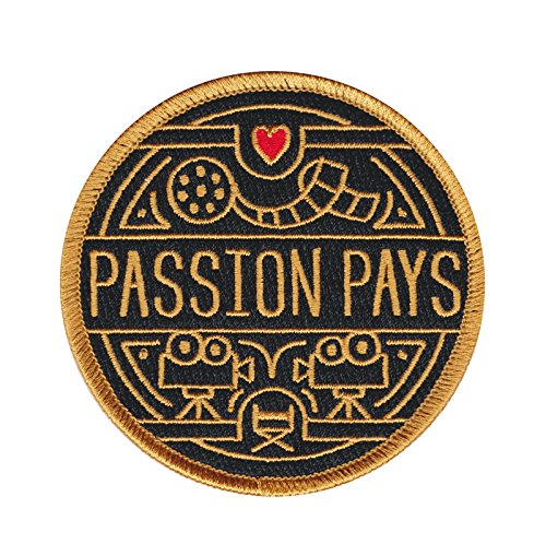 Asilda Store Embroidered Sew or Iron-on Patch (Passion Pays. Film)