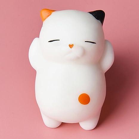 Deanyi - Juguete de Peluche para Gato con diseño de Dibujos Animados y Peluche, Suave