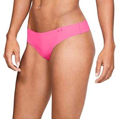 Under Armour Women's Pure Stretch Thong Printed Underwear - 3 Pack: Clothing
