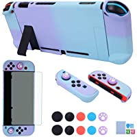 Dockable Case for Nintendo Switch - COMCOOL 3 in 1 Protective Cover Case for Nintendo Switch and Joy-Con Controller with…