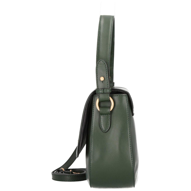Joop! Dam Nausica Esmera axelväska SHF axelväska, 9 x 20 x 25 cm Grön (mörkgrön)