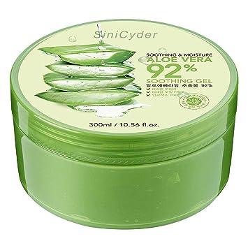 Smuk Aloe Vera Gel,Sinicyder Natürliche Feuchtigkeitspflege Aloe Vera VN-78