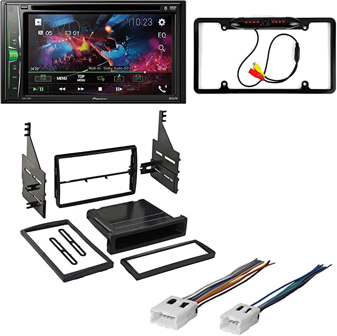 CAR STEREO RADIO RECEIVER MOUNTING KIT COMPATIBLE WITH NISSAN ALTIMA 2005-2006
