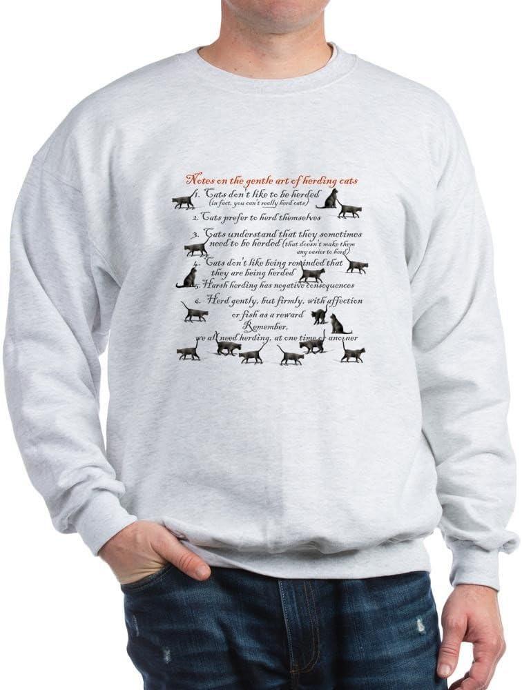 Amazon.com: CafePress – Herding Gatos sudadera – Clásico ...