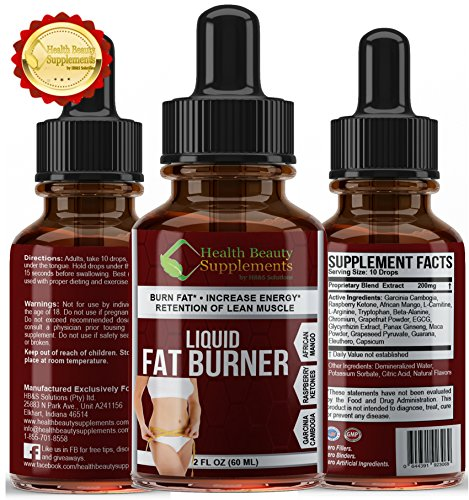** ULTRA GARCINIA - AFRICAN MANGO - RASPBERRY KETONE BURNER ** Ultra Fast Absorption - Maximum Weight Loss Result - Top Rated Formula With Rasperry Ketones -African Mango And Garcinia Cambogia - Red Raspberry Liquid Extract