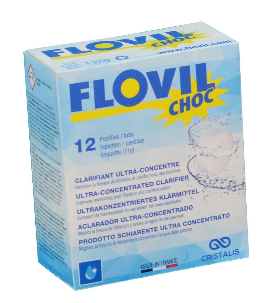 Flovil Choc md9290Flockmittel A Schnelle Aktion für Behandlung Choc, weiß weiß Cristalis