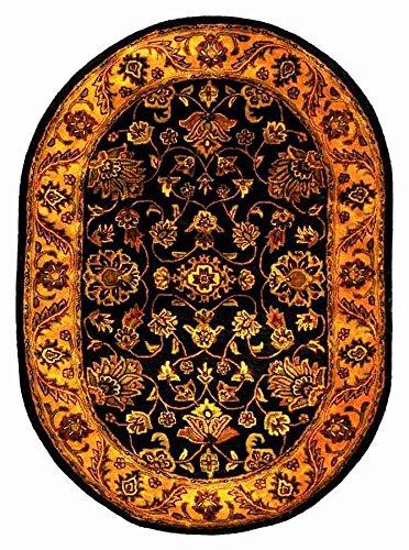 Safavieh Golden Jaipur Black Gold Rug Rug Size 6 x 9