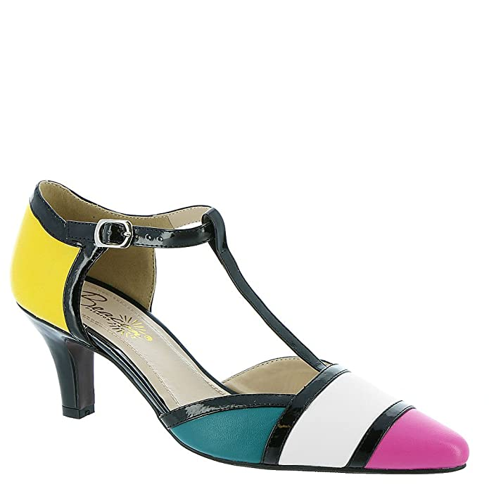 Retro Vintage Style Wide Shoes Beacon Aurora Womens Pump $59.95 AT vintagedancer.com