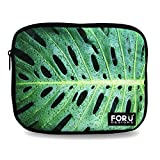 FOR U DESIGNS Green Useful Laptop Bag Sleeve IPad Air and Netbook Bag