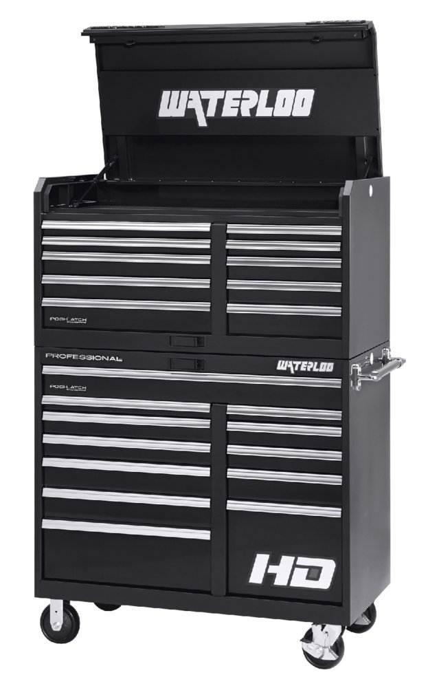 Amazon.com: Waterloo PCH-461024BK Professional HD Series 10-Drawer ...