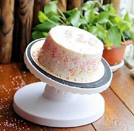 12-Inch 360 Degree giratorio soporte para tartas decoración de ...