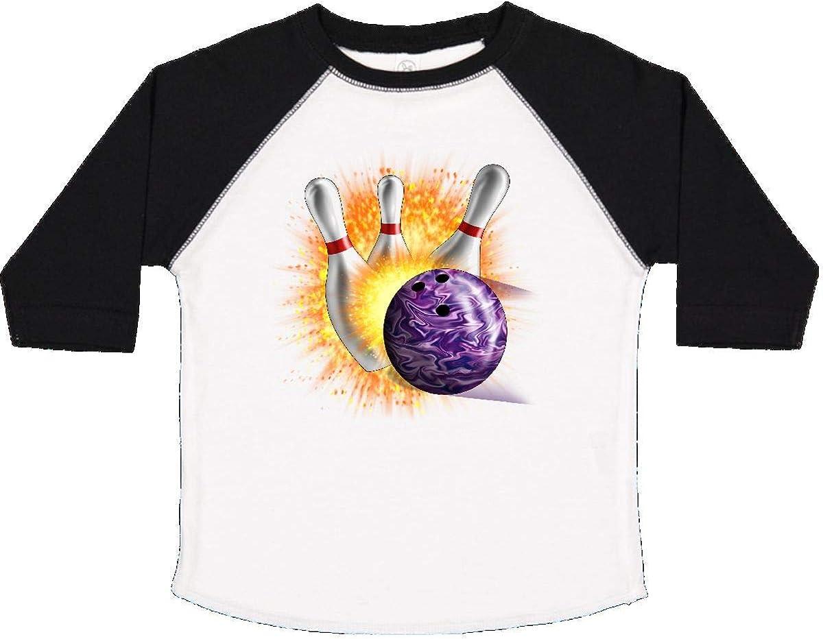inktastic Bowling Strike Toddler T-Shirt