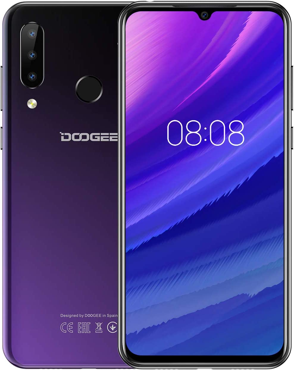 DOOGEE N20 Telefono Movil Libres 4G, Android 9.0 Smartphones ...