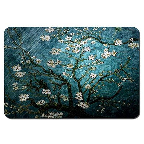 Cennbie Gaming Mauspad Blühende Mandel Baum Entwurf Groß Größe Mause pad.5 (23.6 × 15.7 × 0.07 inch)