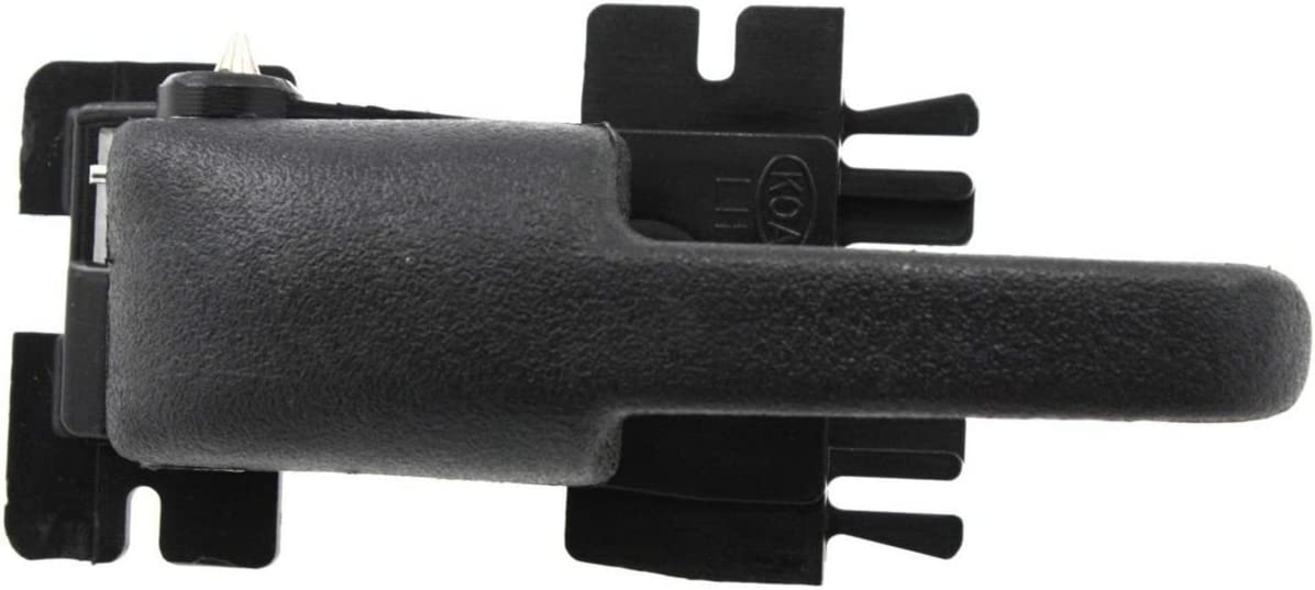 DAT AUTO PARTS Black Interior Door Handle Replacement for 95-01 Ford Explorer FO1352114 Left Driver Side