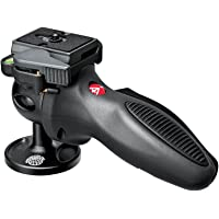 Manfrotto 324RC2 Light Duty Grip Ball Head, Compact and Portable Tripod (Dark Grey)