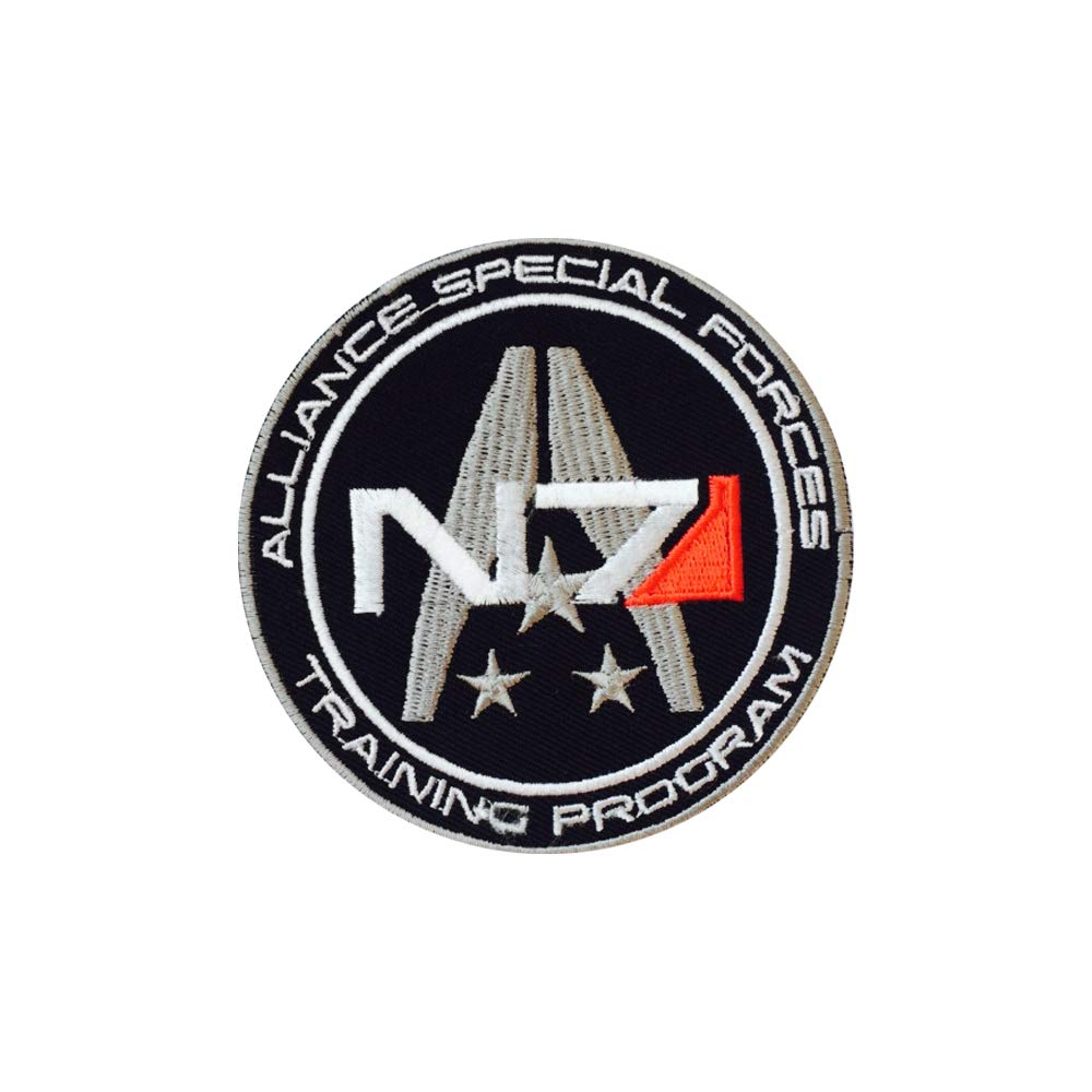 REAL EMPIRE N7/Alliance forze speciali video Game Iron On Patches Sew on patch ricamato distintivi