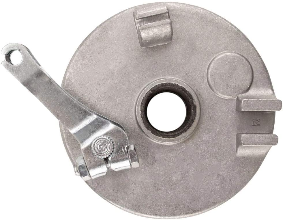 RIGHT 4 Drum with Backing Plate /& Shoes by VMC CHINESE PARTS ATV Quad Brake Assy