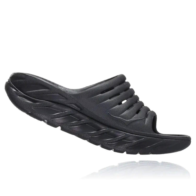 HOKA ONE ONE Mens ORA Recovery Slide 2 Black/Black Sandal - 11 by HOKA ONE ONE