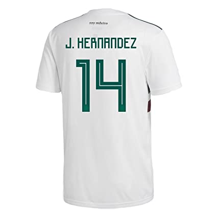 d8f95095d12 adidas J. HERNANDEZ  14 Mexico Away Men s Soccer Jersey World Cup Russia  2018 (