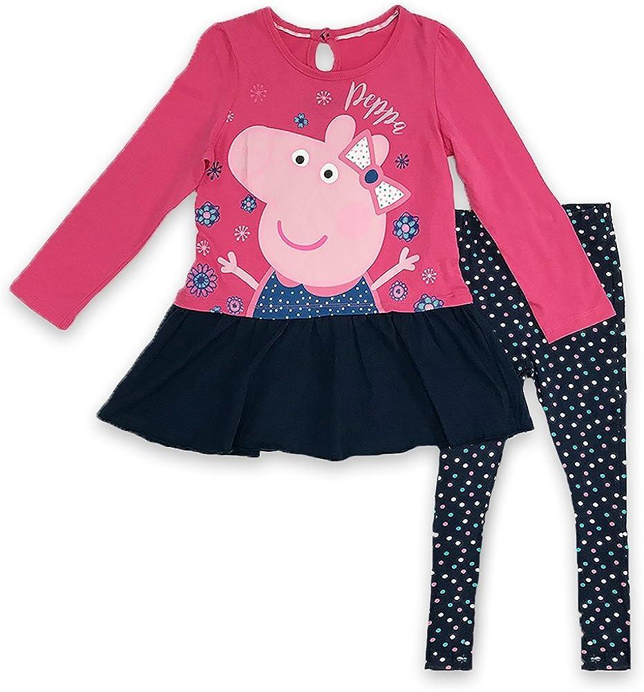 Peppa Pig Girls Long Sleeve Top