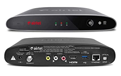 Airtel Internet TV with 1 Month Subscription and 1 Year Airtel TV App  Subscription