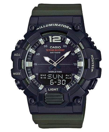 Casio Reloj Digital para Hombre de Cuarzo con Correa en Resina HDC-700-3AVEF: Amazon.es: Relojes