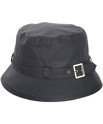 Women s Barbour Kelso Wax Belted Hat - Rustic  Amazon.co.uk  Clothing aa38421de4c1