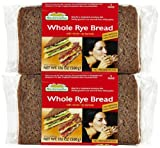 Mestemacher Whole Rye Bread, 17.6 oz, 2 pk