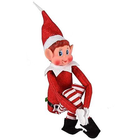 elves behavin badly 12 vinyl faced naughty elf doll amazon co