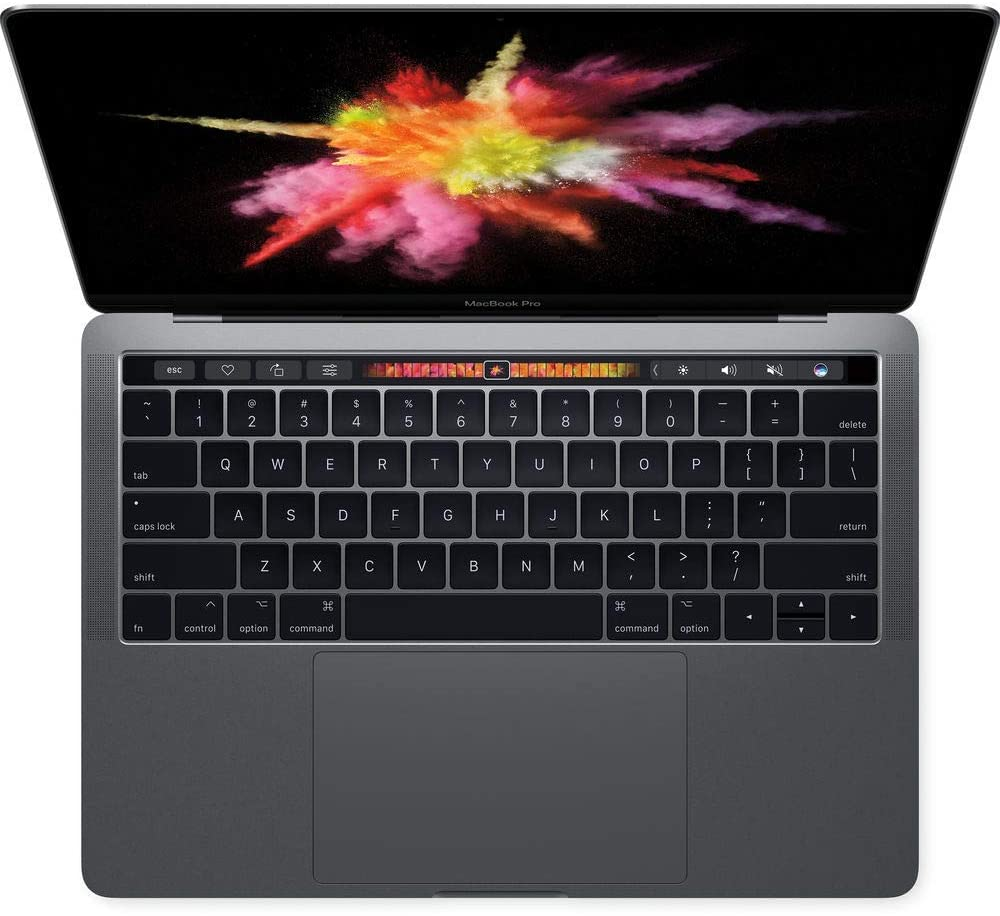 Apple Macbook Pro 5MPXV2LL/A-R Laptop (Mac OS, 3.1GHz dual-core Intel Core i5, 13.3 inches LED Screen, Storage: 256 GB, RAM: 8 GB) Space Gray (Renewed)