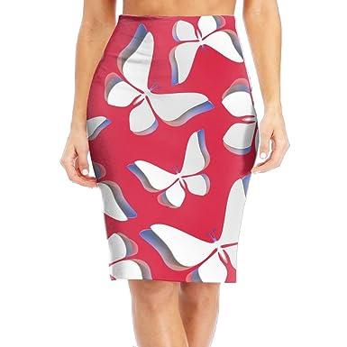 Cvc Skirts Origami Lover Women Slim Pencil Skirt High Waist The Knee