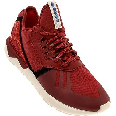 adidas Tubular Runner Mens In Stnore/Red, 8