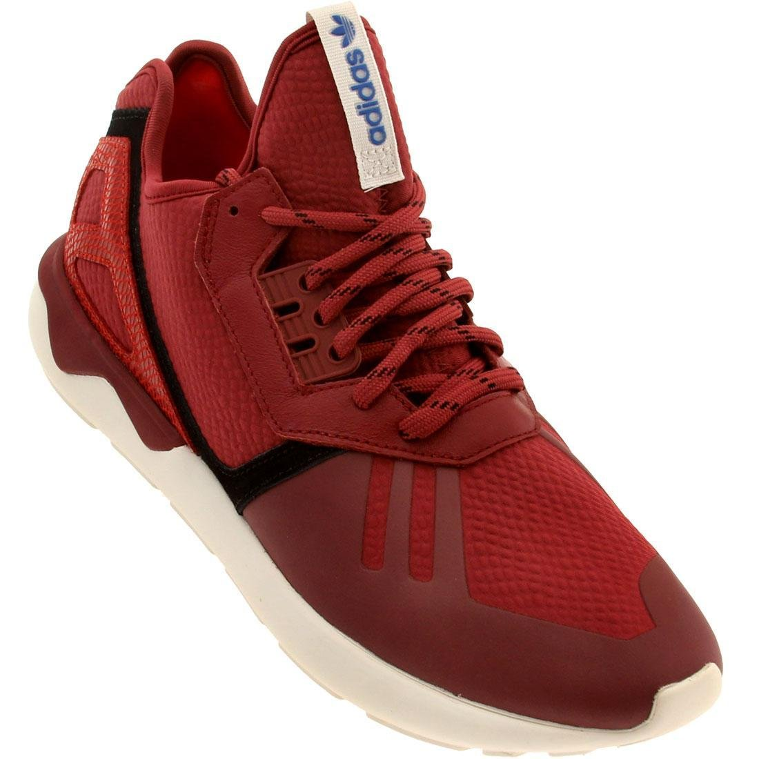 outlet store sale e97ac 54b2c adidas Tubular Runner Mens in Stnore/Red, 11