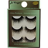 Cílios Postico Premium Le Vangee - 70% Fibra de Seda - 3 Pares - #025 - Ref. 55409