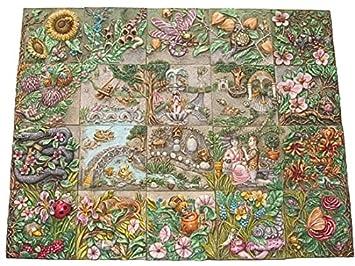 Harmony Kingdom   Picturesque U0026quot;Byronu0027s Secret Garden Tiles   Premier  Edition Setu0026quot; ...