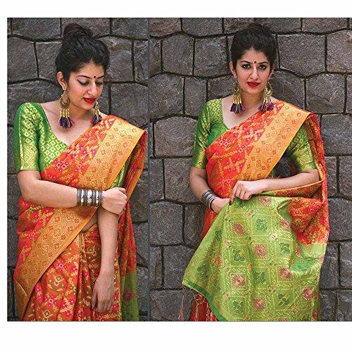 Sari Partito Progettista Donne Di Indiani Nozze Facioun Le Per Tradizionale Usura Da Color Ambra Sari CRqpUw58