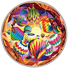 Round Table Puzzle - Balloon Chaos (500 Piece)