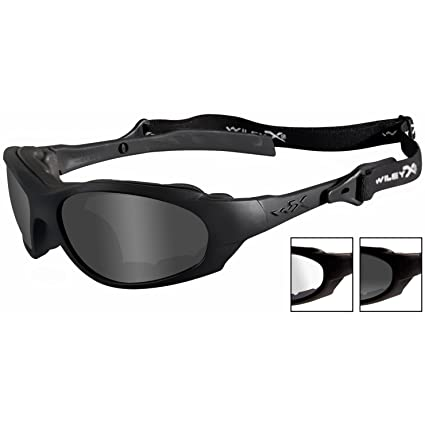 76d1fa8446d9 Amazon.com  Wiley X XL-1 Advanced Smoke Grey Clear Lens Matte Black Frame   Everything Else