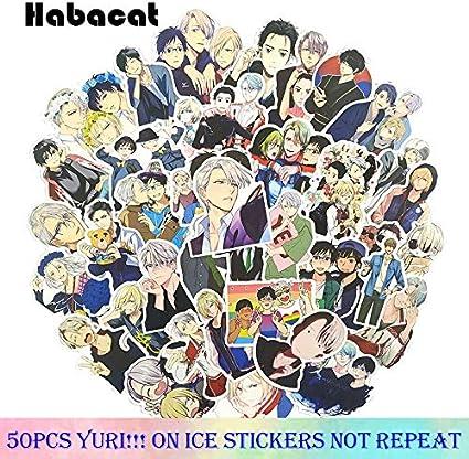 Pack Yuri!!! On Ice Graffiti Stickers Anime Pegatinas para ...