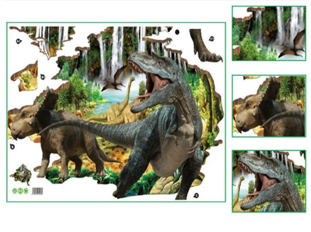 79508b24f72932 Cinnamou Fashion Stickers Mural Dinosaures 3D Stickers Muraux Décoratifs  Créatifs Amovibles Sticker Muraux  Amazon.fr  Bricolage