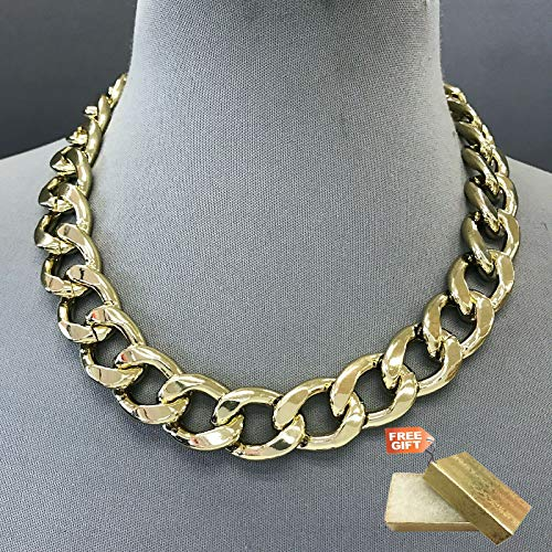 (Gold Finished Chain 0.75
