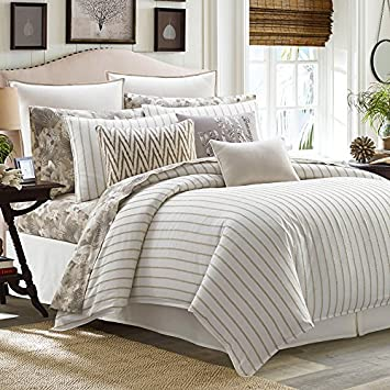 Amazon tommy bahama sandy coast duvet cover set fullqueen tommy bahama sandy coast duvet cover set fullqueen beige gumiabroncs Gallery