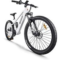 Accolmile Bicicleta de montaña eléctrica de 27,5 Pulgadas, Motor Central eléctrico BAFANG 48V 750W, con batería de Litio…